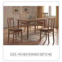 COS - RIVER DINING SET (1+6)